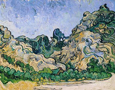 The Alpilles Art Print by Vincent Van Gogh
