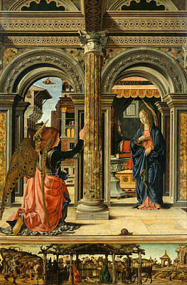 Saint Painting - The Annunciation by Francesco del Cossa