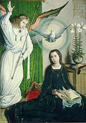 Painting - The Annunciation by Juan de Flandes