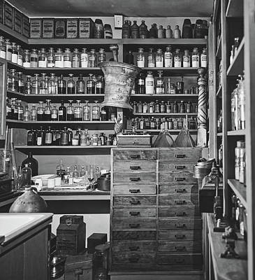 Photograph - The Apothecary by Library Of Congress