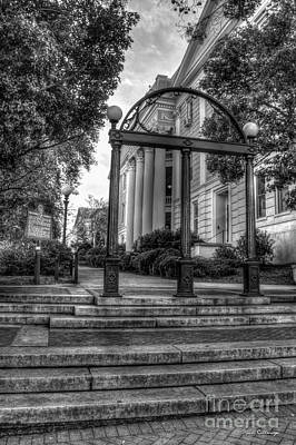 Photograph - The Arch 5 University Of Georgia Arch Art by Reid Callaway