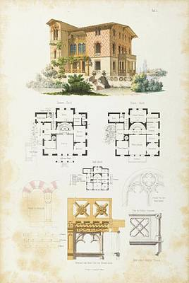 Architecture Painting - The Architect For Friends Of Beautiful Architecture by MotionAge Designs