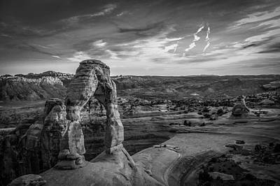 Photograph - The Archway Bw by Michael Damiani