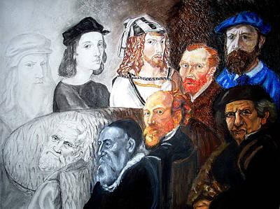The Artist's Table Art Print