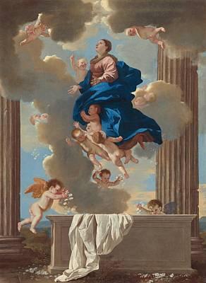 The Assumption Of The Virgin Art Print