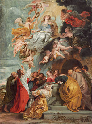 Painting - The Assumption Of The Virgin by Peter Paul Rubens