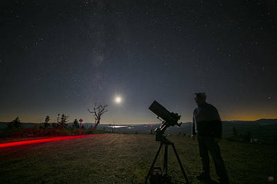 Photograph - The Astronomer by John Meader