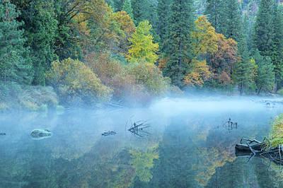 Photograph - The Autumn Canvas by Jonathan Nguyen
