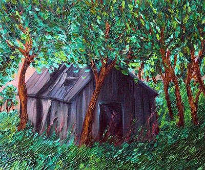 Painting - The Barn by Felix Concepcion