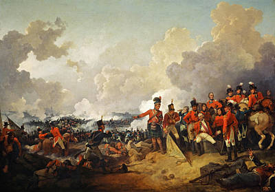 Painting - The Battle Of Alexandria, 21 March 1801 by Philip James de Loutherbourg