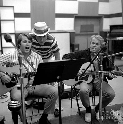 Jardine Photograph - The Beach Boys Party Lp Recording Sessions. by The Titanic Project