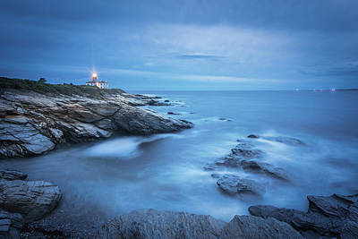 Photograph - The Beacon Blue by Kim Carpentier