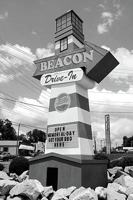 Photograph - The Beacon In Spartanburg South Carolina Color by Joseph C Hinson Photography