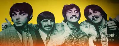 Music Royalty-Free and Rights-Managed Images - The Beatles by Douglas Sacha