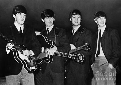 Guitarist Photograph - The Beatles by Granger