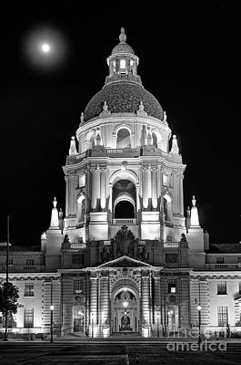 Cityhall Photograph - The Beautiful Pasadena City Hall. by Jamie Pham