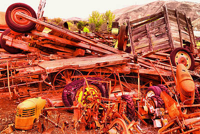 Photograph - The Beauty Of Junk by Jeff Swan