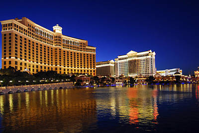 Photograph - The Bellagio by Willie Harper