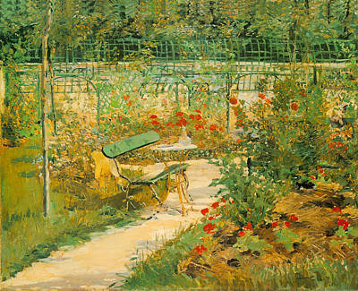 Photograph - The Bench by Edouard Manet