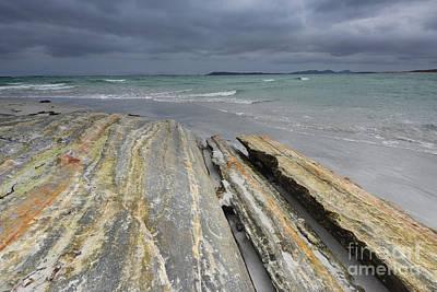 Scotland Wall Art - Photograph - The Berneray Coast by Smart Aviation
