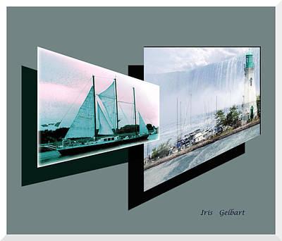 Digital Art - The Best Of Niagara 2 by Iris Gelbart