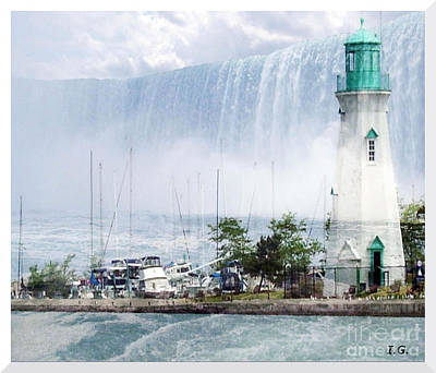Digital Art - The Best Of Niagara by Iris Gelbart