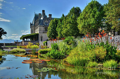 Photograph - The Biltmore Estate Gardens by Savannah Gibbs