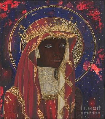 Black Madonna Painting - The Black Madonna by Andrew Stewart Jamieson