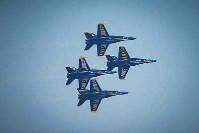 Photograph - The Blue Angels by Chris McKenna