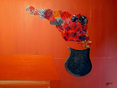 Painting - The Blue Vase by Bill OConnor