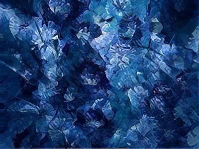 Digital Art - The Blues by Megan Walsh