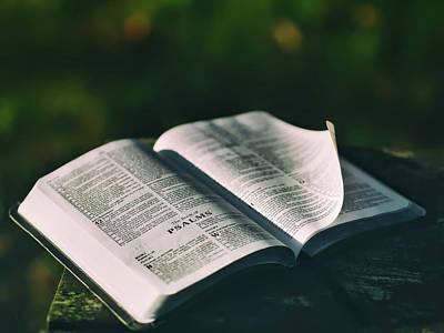 The Book Of Psalms Art Print