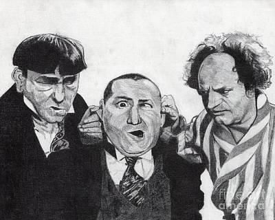 The Boys Art Print by Jeff Ridlen