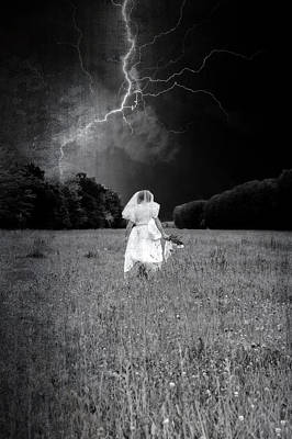 Lightning Photograph - The Bride by Joana Kruse