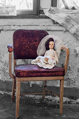 Photograph - The Bride Of Pennhurst by Michael Porchik