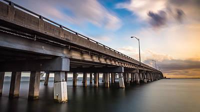 Florida Bridge Digital Art - The Bridge Between Good And Evil by Clay Townsend
