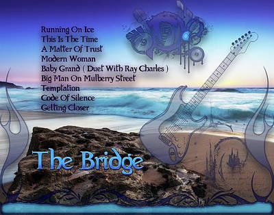 Digital Art - The Bridge  by Michael Damiani