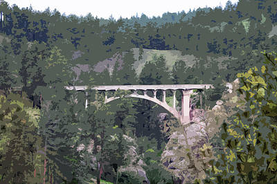 Photograph - The Bridge by Steve ODonnell