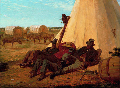 The Bright Side Art Print by Winslow Homer