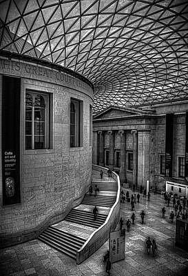 Striking Photograph - The British Museum by Martin Newman