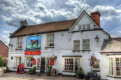 Photograph - The Bull Pub Theydon Bois by David Pyatt