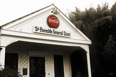 The Burnside General Store Art Print by Scott Pellegrin