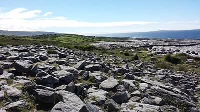 Photograph - The Burren by Judith Rhue
