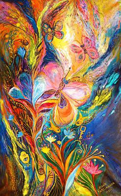 The Butterflies Art Print by Elena Kotliarker