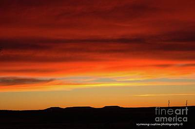 Photograph - The Buttes At Sundown by Carole Martinez