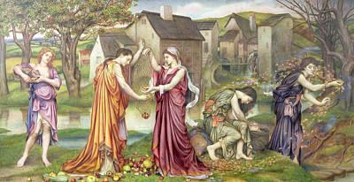 The Cadence Of Autumn Art Print by Evelyn De Morgan