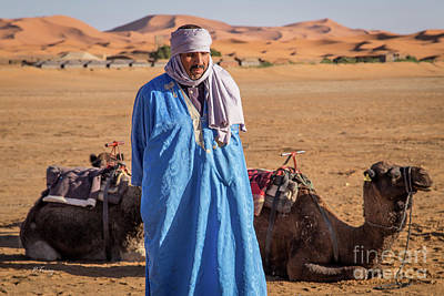 Photograph - The Camel Driver Up Close And Personal by Rene Triay Photography