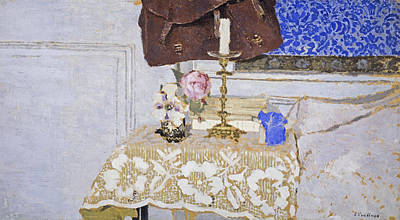Painting - The Candlestick by Edouard Vuillard