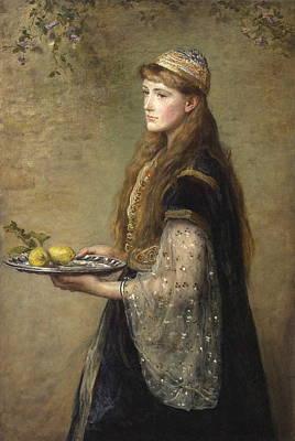 The Captive Art Print by John Everett Millais