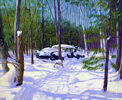 Painting - The Car by Candace Lovely